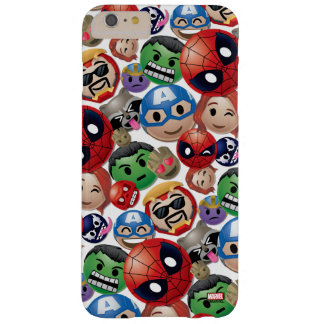 Marvel Emoji Characters Toss Pattern Barely There iPhone 6 Plus Case