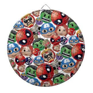 Marvel Emoji Characters Toss Pattern Dartboard