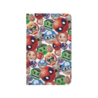 Marvel Emoji Characters Toss Pattern Journal