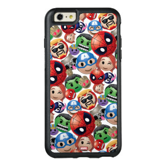 Marvel Emoji Characters Toss Pattern OtterBox iPhone 6/6s Plus Case