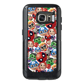 Marvel Emoji Characters Toss Pattern OtterBox Samsung Galaxy S7 Case