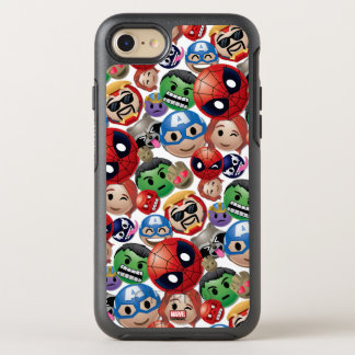 Marvel Emoji Characters Toss Pattern OtterBox Symmetry iPhone 8/7 Case