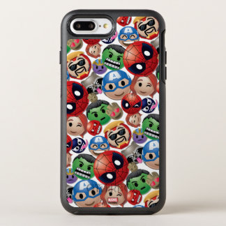 Marvel Emoji Characters Toss Pattern OtterBox Symmetry iPhone 8 Plus/7 Plus Case