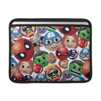 Marvel Emoji Characters Toss Pattern Sleeve For MacBook Air