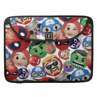 Marvel Emoji Characters Toss Pattern Sleeve For MacBook Pro