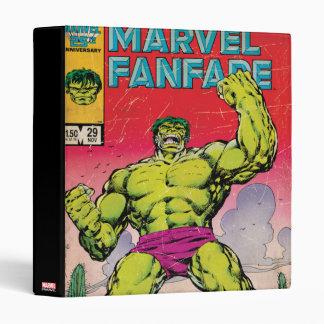 Marvel Fanfare Hulk Comic #29 3 Ring Binder