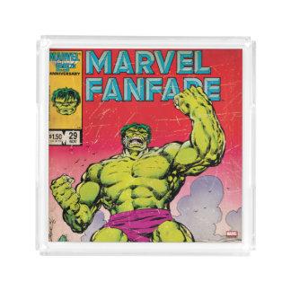 Marvel Fanfare Hulk Comic #29 Acrylic Tray