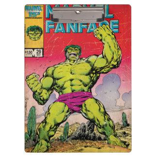 Marvel Fanfare Hulk Comic #29 Clipboards