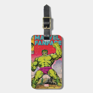 Marvel Fanfare Hulk Comic #29 Luggage Tag