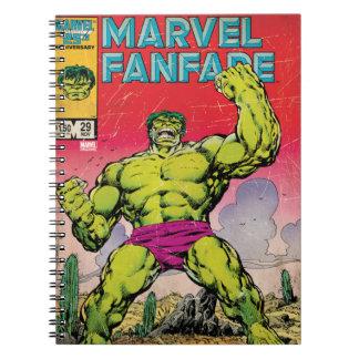 Marvel Fanfare Hulk Comic #29 Notebooks