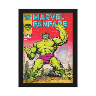 Marvel Fanfare Hulk Comic #29 Stretched Canvas Print