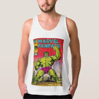 Marvel Fanfare Hulk Comic #29 Tank Top