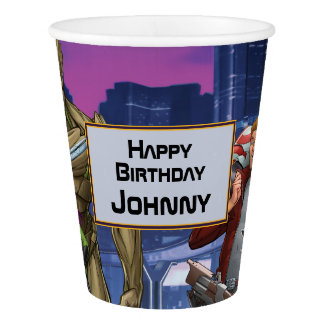 Marvel | Guardians of the Galaxy - Birthday Paper Cup