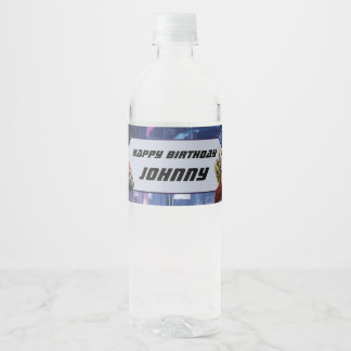 Marvel | Guardians of the Galaxy - Birthday Water Bottle Label