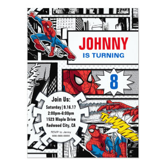 Marvel | Spiderman - Birthday Card