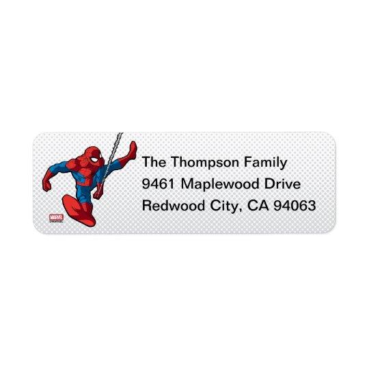 Marvel | Spiderman - Birthday Return Address Label