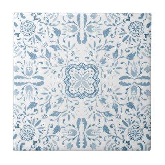Marvellous Ceramic Tile - Vintage Blue