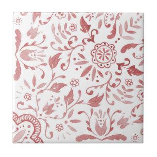 Marvellous Ceramic Tile - Vintage Red