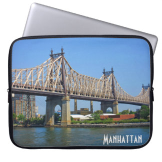 Marvellous Manhattan – Queensboro Bridge Laptop Sleeve