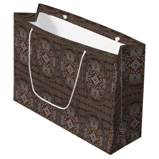 Marvellous sensational decorative African Print Large Gift Bag