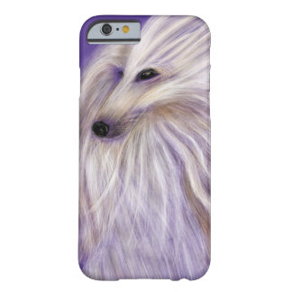 MARVELOUS AFGHAN HOUND BY DIVINA FOR iPhone 6 case Barely There iPhone 6 Case