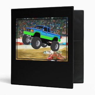Marvelous Monster Truck in the Arena Binders