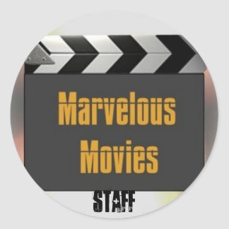 Marvelous Movies STAFF Sticker