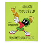 MARVIN THE MARTIAN™ Aiming Laser Poster