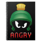 MARVIN THE MARTIAN™ Angry Emoji Notebook