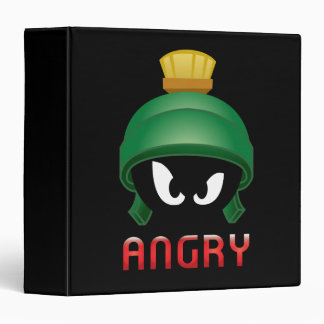 MARVIN THE MARTIAN™ Angry Emoji Vinyl Binders