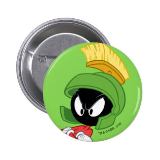 MARVIN THE MARTIAN™ | Arms Crossed 2 Inch Round Button