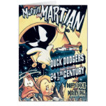 MARVIN THE MARTIAN™, DAFFY DUCK™ and Elmer Greeting Card