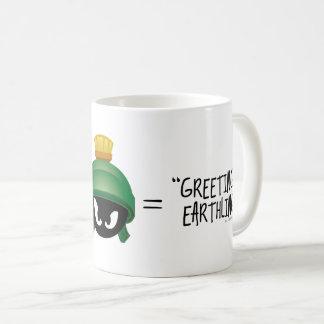 MARVIN THE MARTIAN™ Emoji Equation Coffee Mug