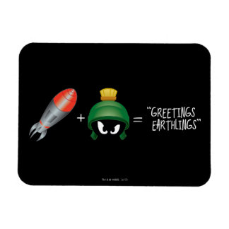 MARVIN THE MARTIAN™ Emoji Equation Magnet