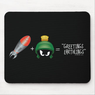 MARVIN THE MARTIAN™ Emoji Equation Mouse Pad