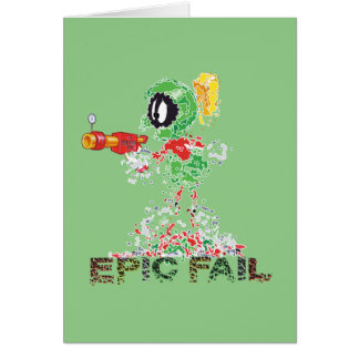 MARVIN THE MARTIAN™ Epic Fail Card