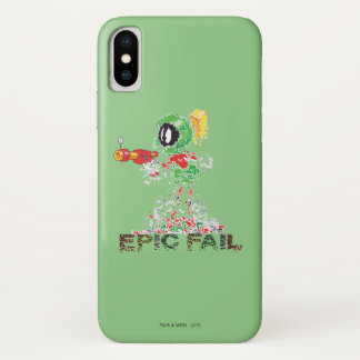 MARVIN THE MARTIAN™ Epic Fail iPhone X Case