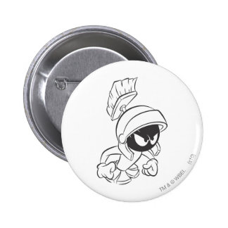 MARVIN THE MARTIAN™ Expressive 2 2 Inch Round Button