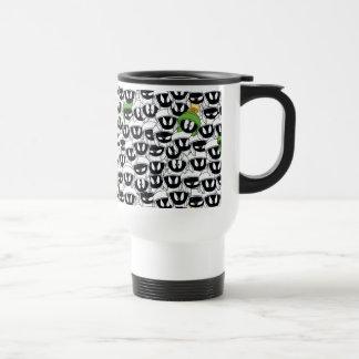 MARVIN THE MARTIAN™ Line Art Color Pop Pattern Travel Mug