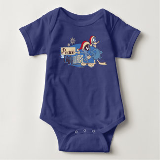 MARVIN THE MARTIAN™- Peace On Earthlings Baby Bodysuit