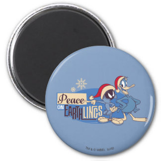 MARVIN THE MARTIAN™- Peace On Earthlings Magnet