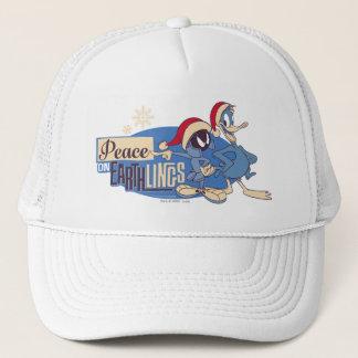 MARVIN THE MARTIAN™- Peace On Earthlings Trucker Hat