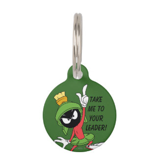 MARVIN THE MARTIAN™ Proclamation Pet Tag