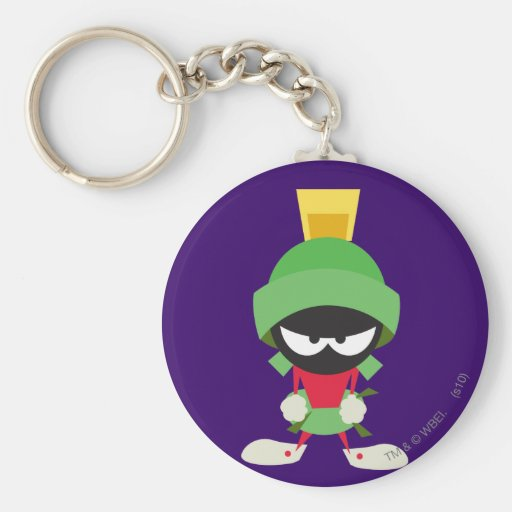 Marvin the Martian Ready to Attack Key Chains