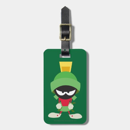 Marvin the Martian Ready to Attack Travel Bag Tags