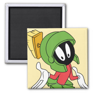 MARVIN THE MARTIAN™ Shrug Magnet
