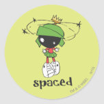 MARVIN THE MARTIAN™ Spaced Round Stickers