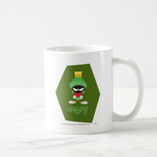 Marvin the Martian Super Mad Coffee Mugs