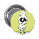 MARVIN THE MARTIAN™ Thinking 2 Inch Round Button