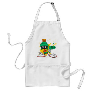 Marvin With Gun Standard Apron